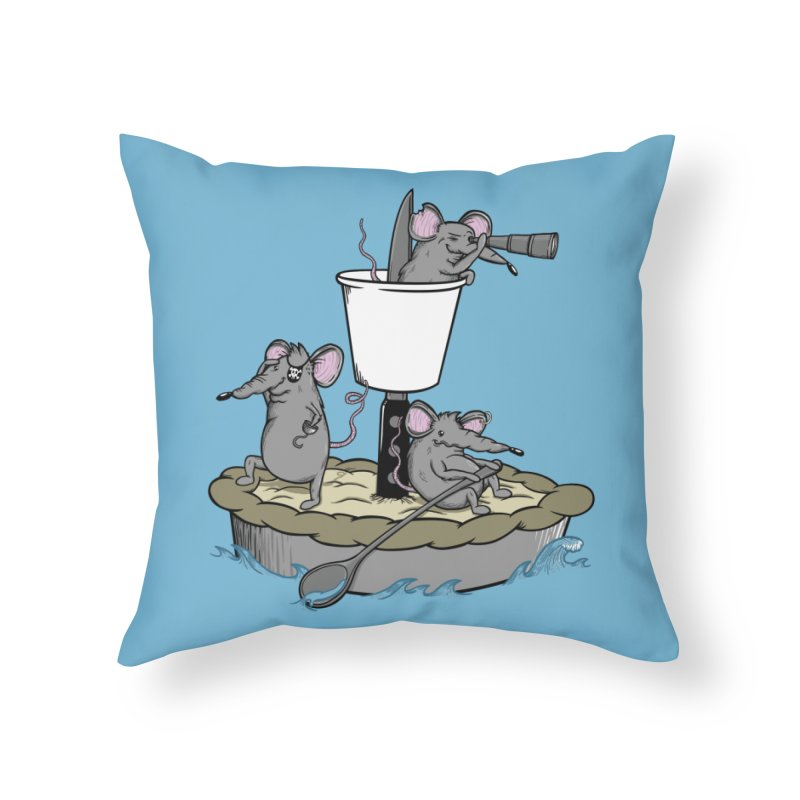 PieRats Home Throw Pillow by maortoubian's Artist Shop