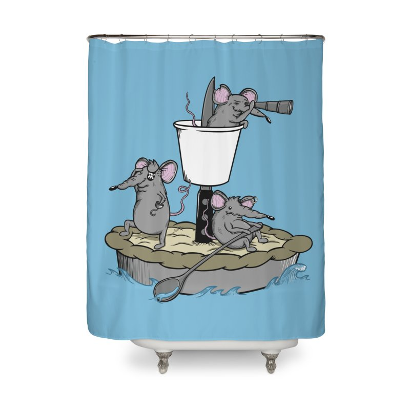 PieRats Home Shower Curtain by maortoubian's Artist Shop