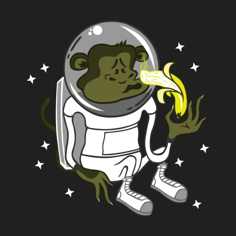 Cant eat banana in space :( by maortoubian's Artist Shop
