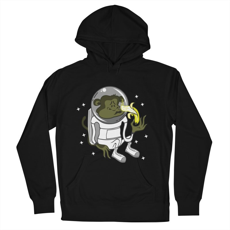 Cant eat banana in space :( Women's Pullover Hoody by maortoubian's Artist Shop