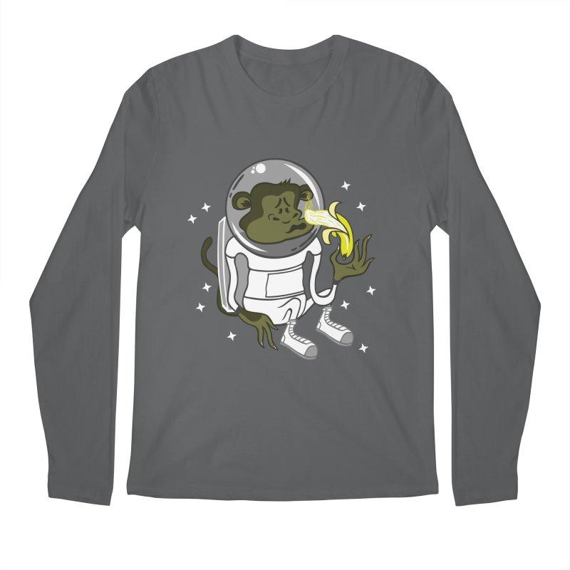 Cant eat banana in space :( Men's Longsleeve T-Shirt by maortoubian's Artist Shop