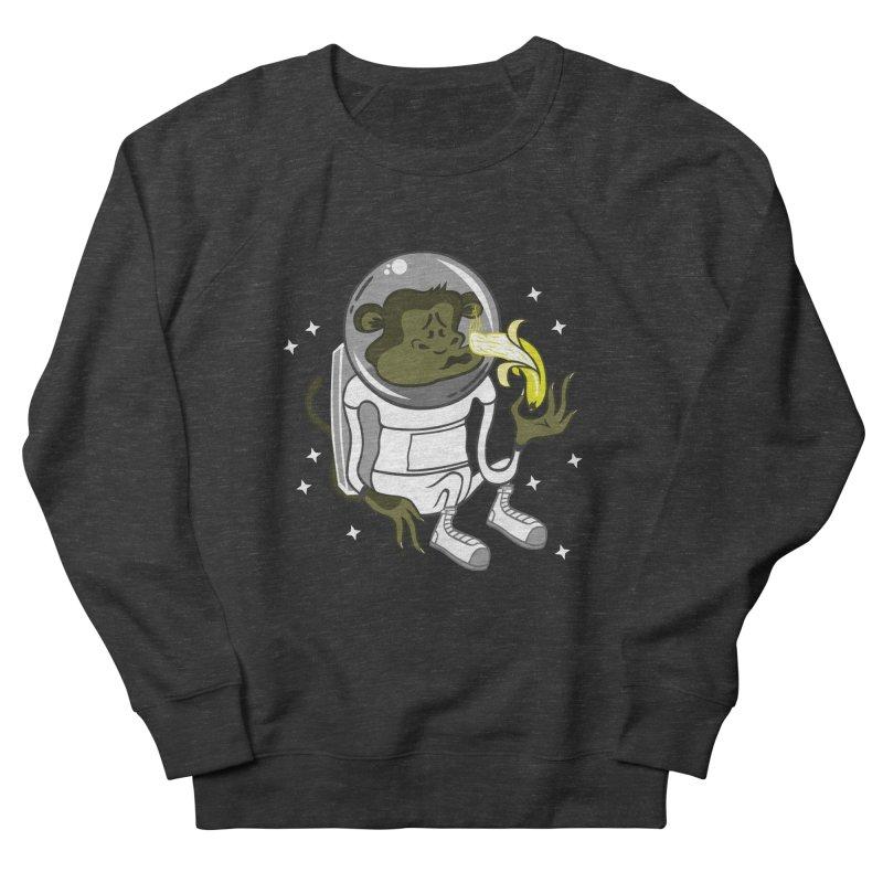 Cant eat banana in space :( Men's Sweatshirt by maortoubian's Artist Shop