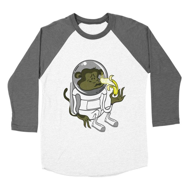 Cant eat banana in space :( Women's Baseball Triblend T-Shirt by maortoubian's Artist Shop