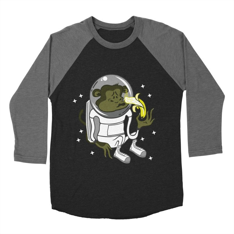 Cant eat banana in space :( Men's Baseball Triblend T-Shirt by maortoubian's Artist Shop