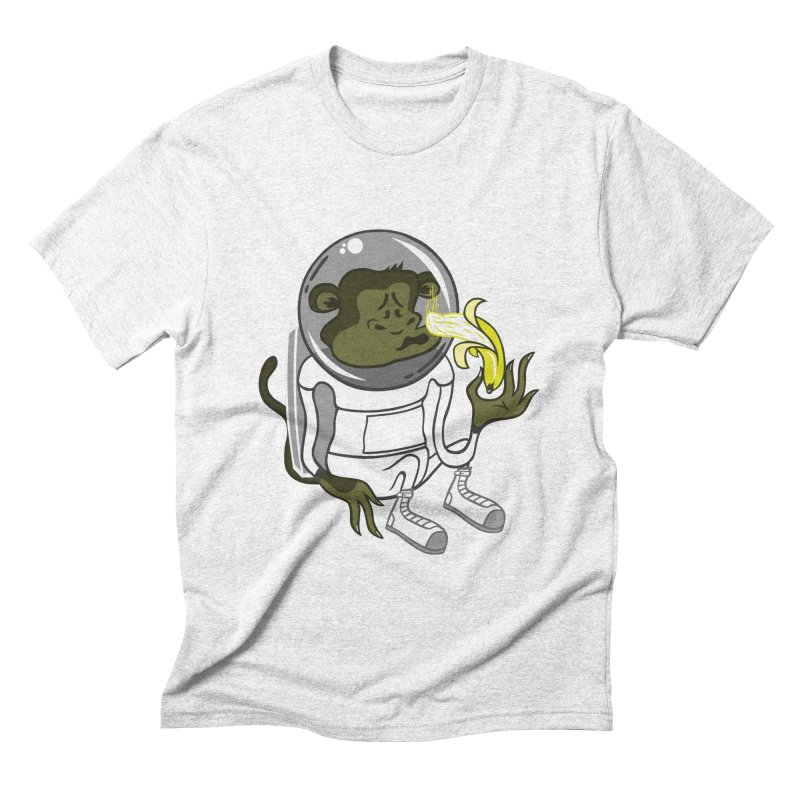 Cant eat banana in space :( Men's Triblend T-shirt by maortoubian's Artist Shop