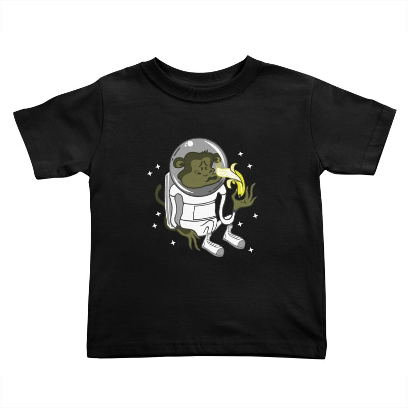 Cant eat banana in space :( Kids Toddler T-Shirt by maortoubian's Artist Shop