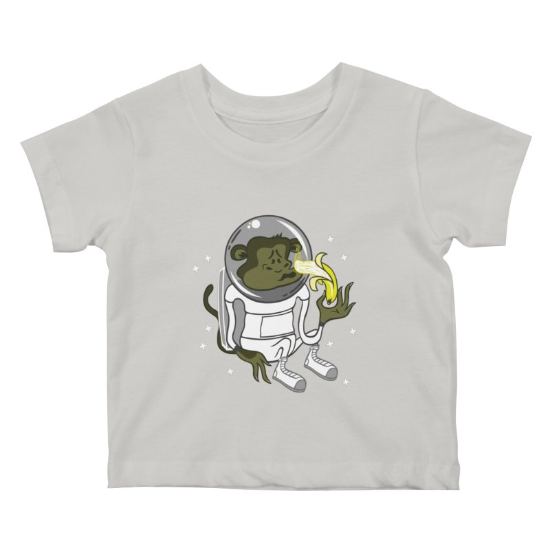 Cant eat banana in space :( Kids Baby T-Shirt by maortoubian's Artist Shop