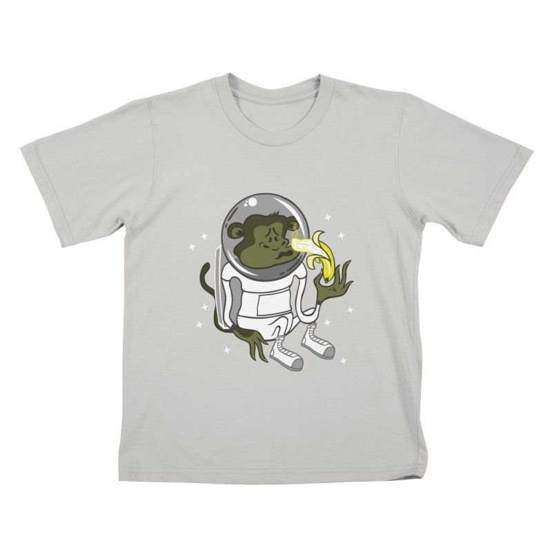 Cant eat banana in space :( Kids T-shirt by maortoubian's Artist Shop