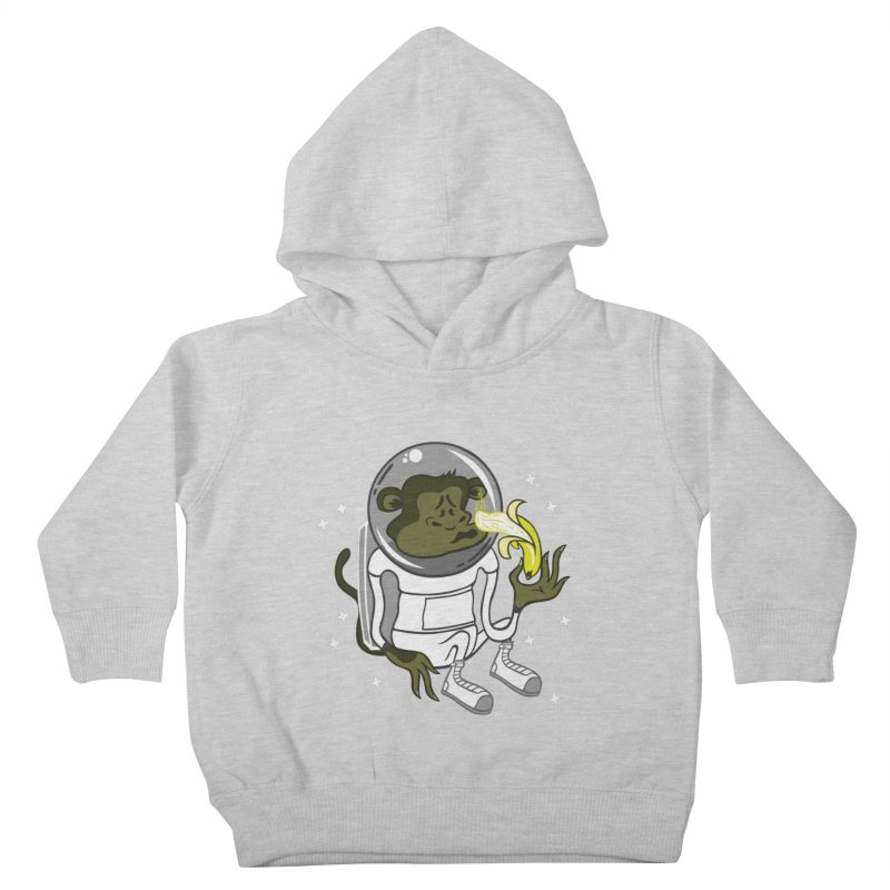 Cant eat banana in space :( Kids Toddler Pullover Hoody by maortoubian's Artist Shop