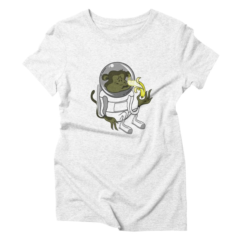 Cant eat banana in space :( Women's Triblend T-shirt by maortoubian's Artist Shop