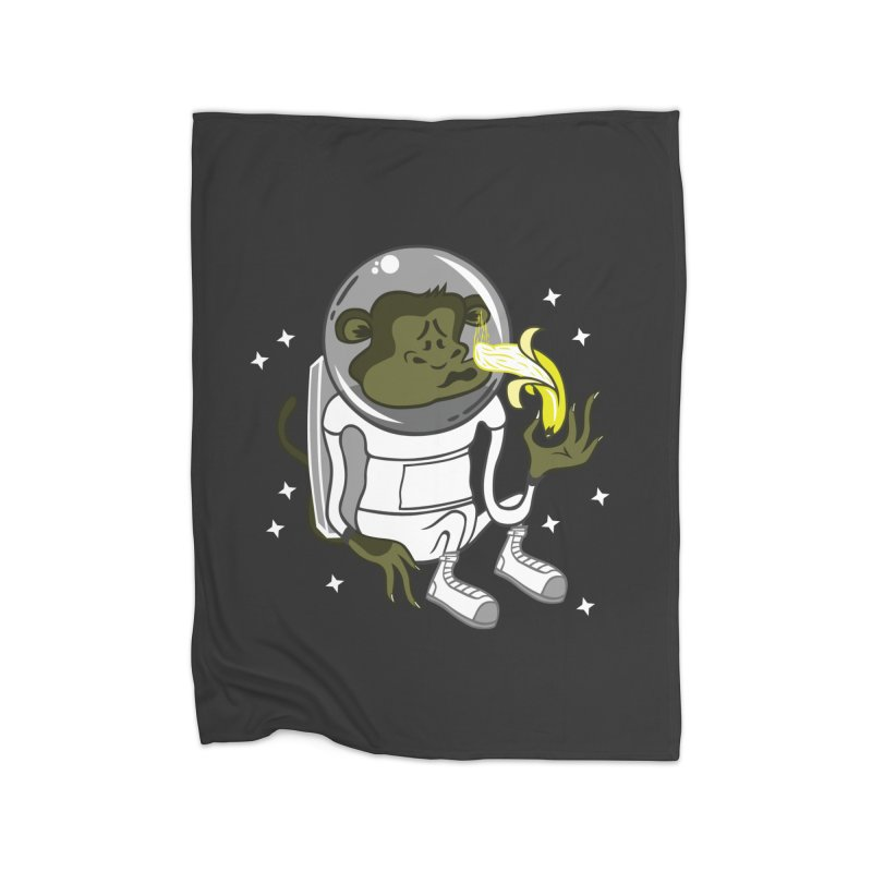 Cant eat banana in space :( Home Blanket by maortoubian's Artist Shop