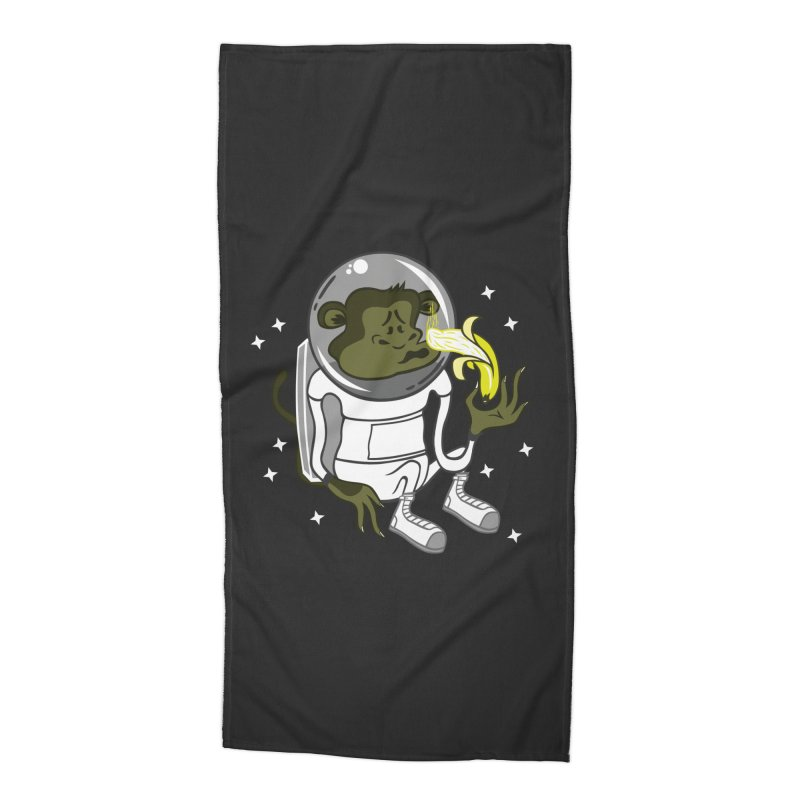 Cant eat banana in space :( Accessories Beach Towel by maortoubian's Artist Shop