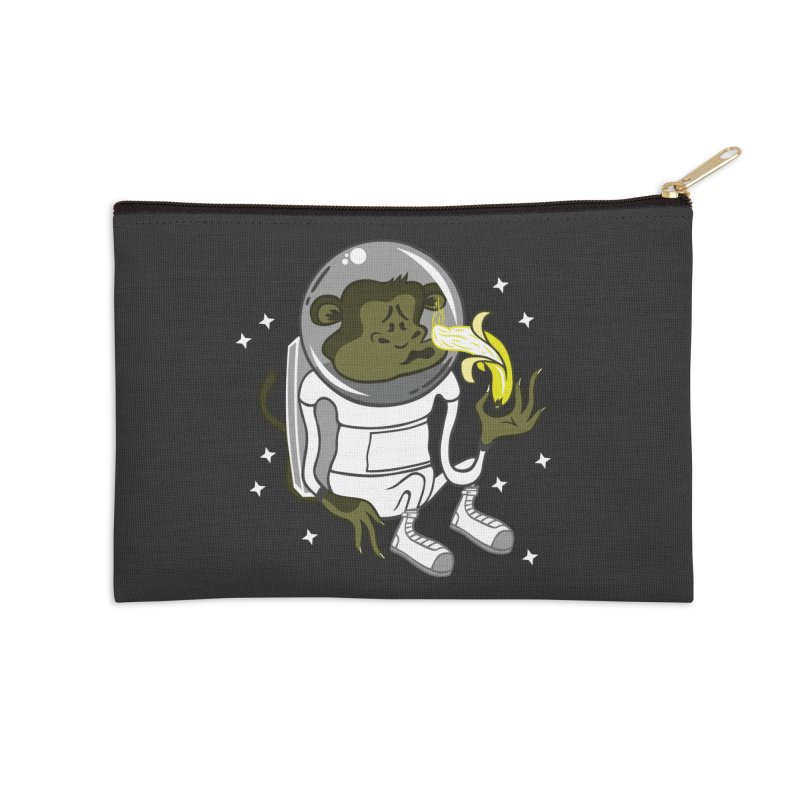 Cant eat banana in space :( Accessories Zip Pouch by maortoubian's Artist Shop