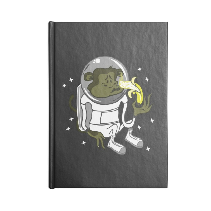 Cant eat banana in space :( Accessories Notebook by maortoubian's Artist Shop