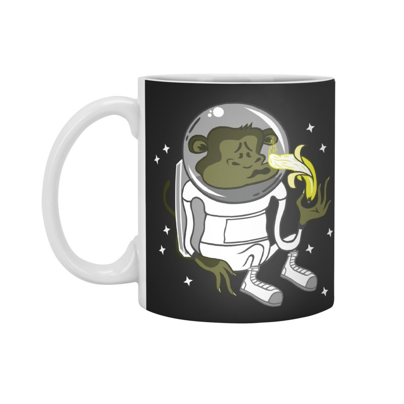 Cant eat banana in space :( Accessories Mug by maortoubian's Artist Shop