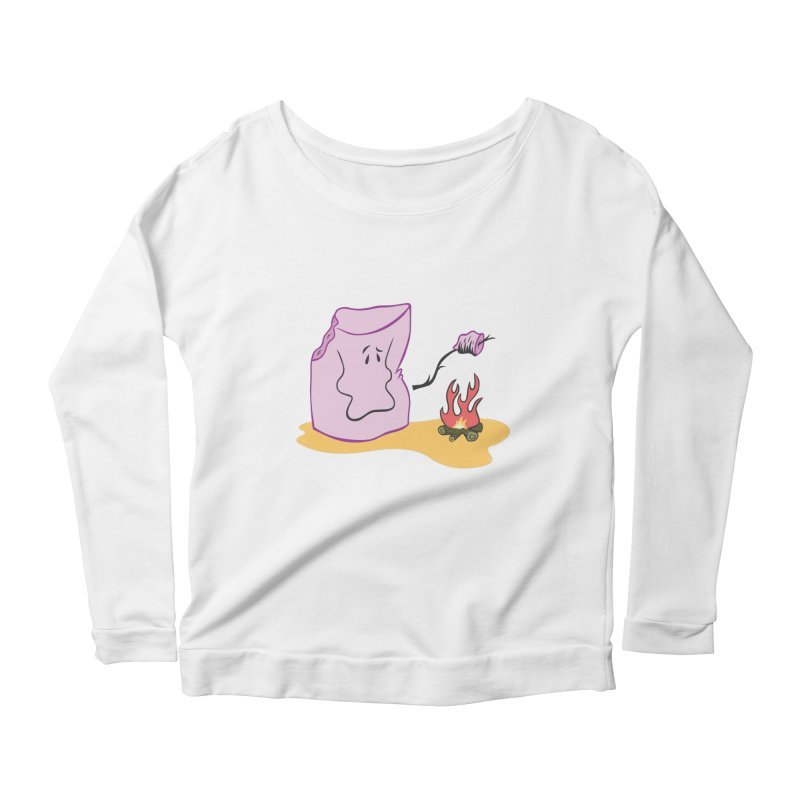 I am so tasty  Women's Longsleeve Scoopneck  by maortoubian's Artist Shop