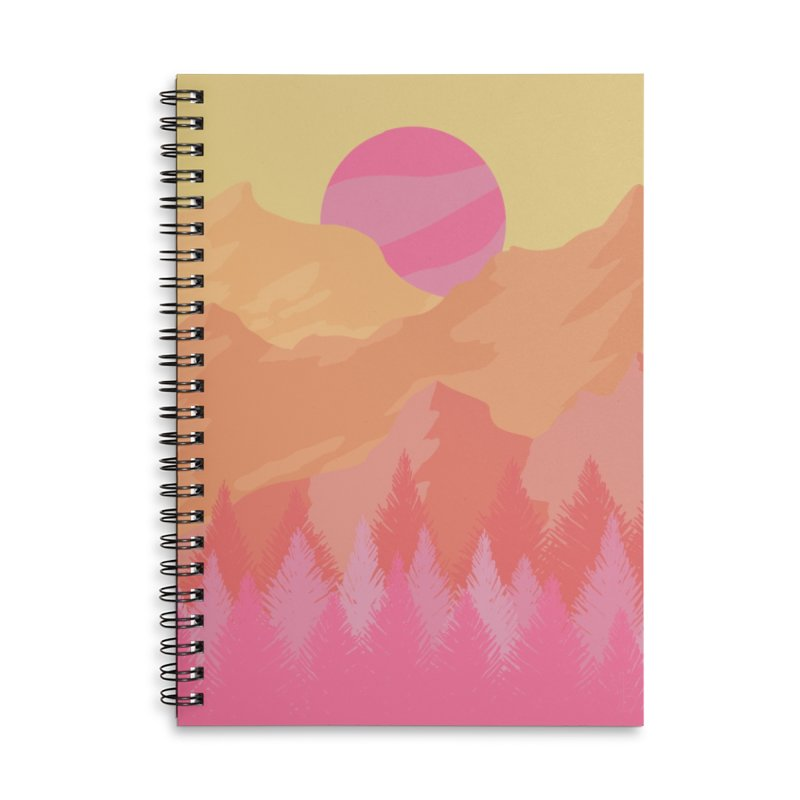 Piercing Accessories Notebook by Maple Bee Creative