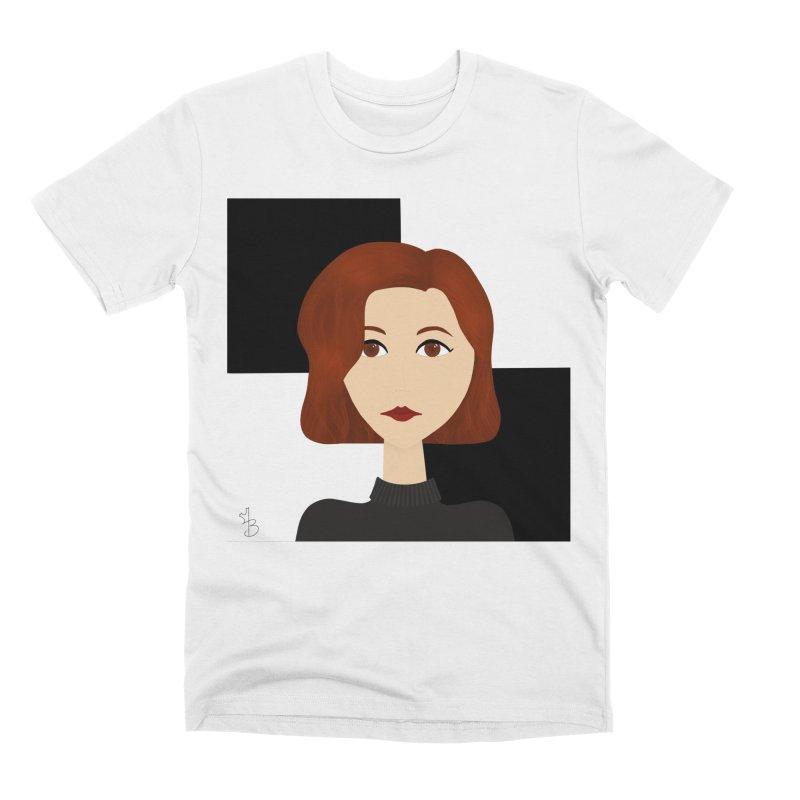 Beth Harmon Men's T-Shirt by Maple Bee Creative