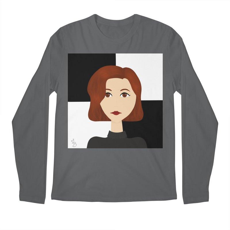 Beth Harmon Men's Longsleeve T-Shirt by Maple Bee Creative