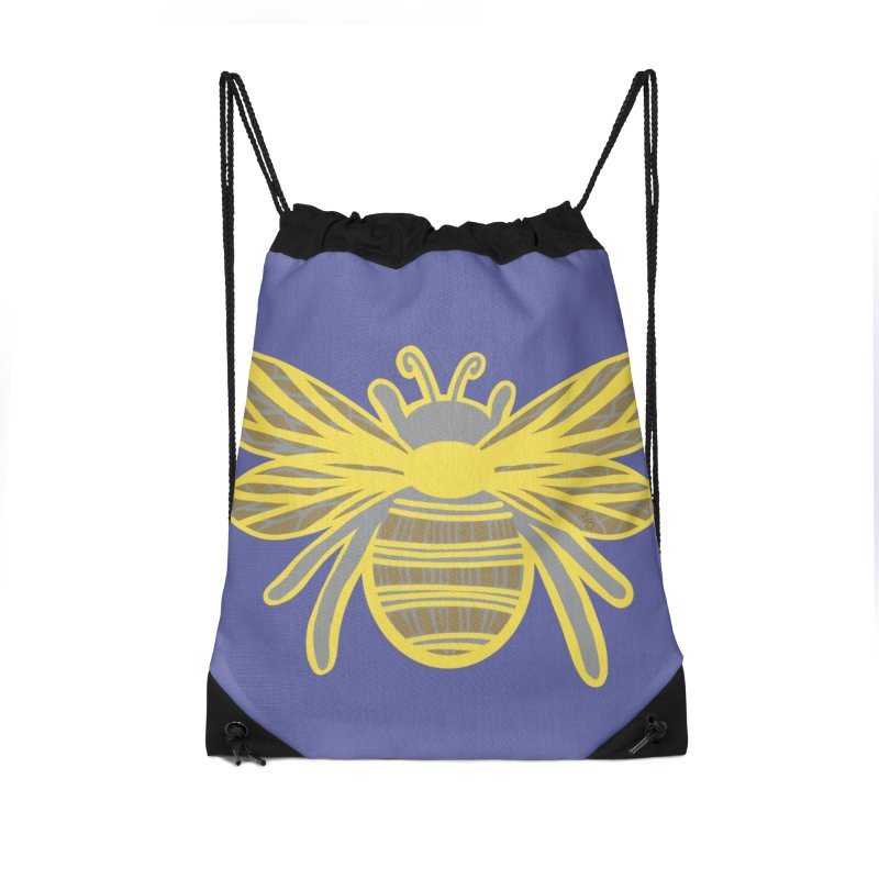 Bumblebee Accessories Bag by Maple Bee Creative