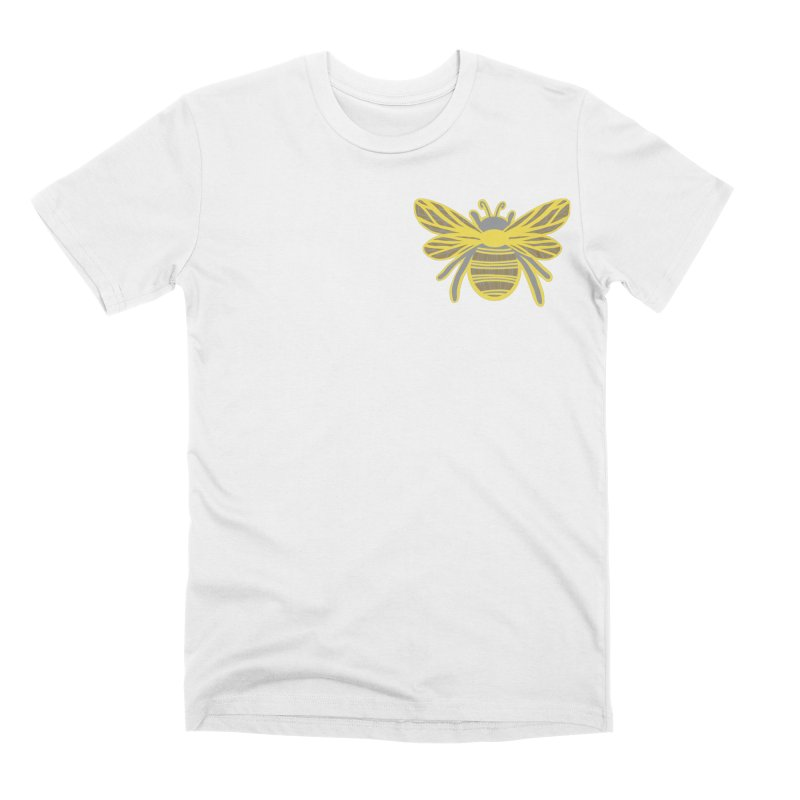 Bumblebee Men's T-Shirt by Maple Bee Creative