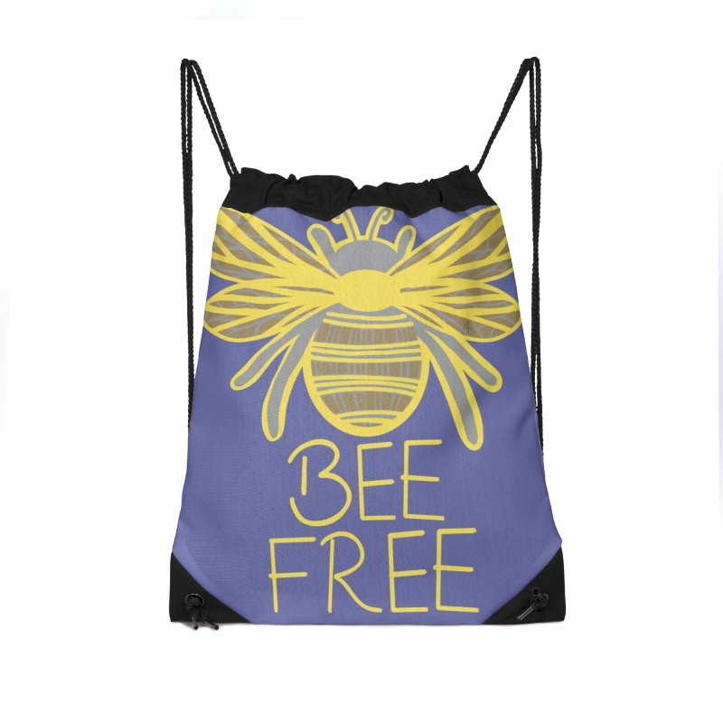 Bee Free Accessories Bag by Maple Bee Creative