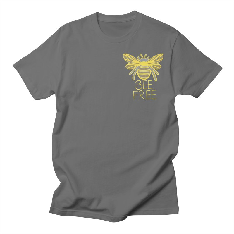 Bee Free Men's T-Shirt by Maple Bee Creative