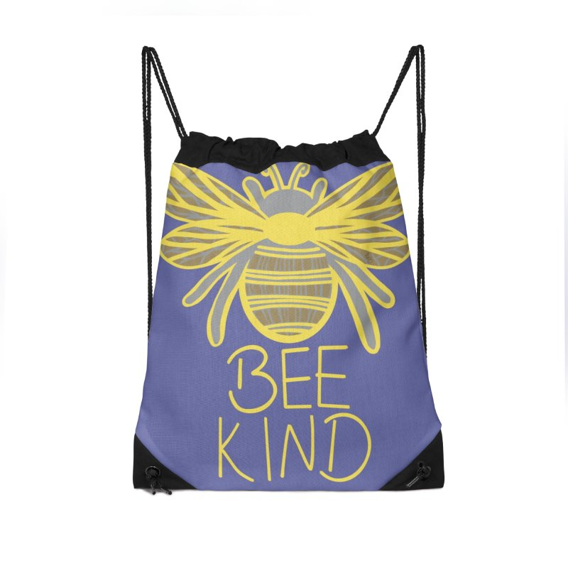 Bee Kind Accessories Bag by Maple Bee Creative