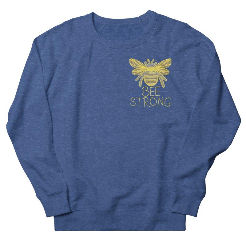 Bee Strong Men's Sweatshirt by Maple Bee Creative