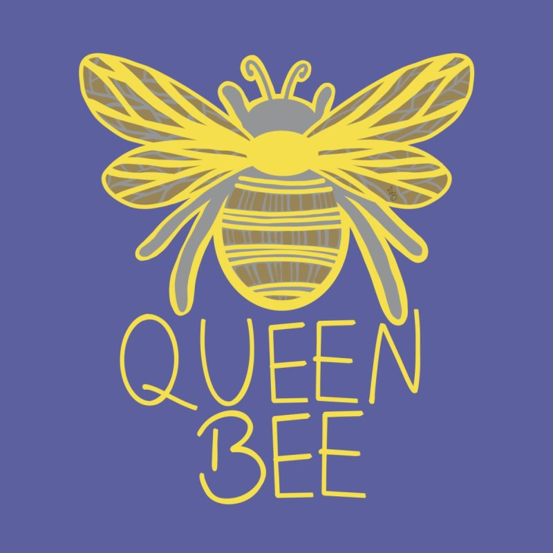 Queen Bee Men's Pullover Hoody by Maple Bee Creative