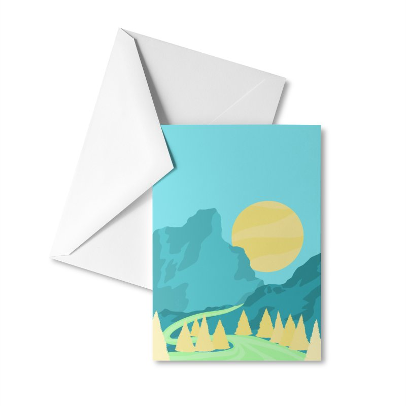 Thawing Accessories Greeting Card by Maple Bee Creative