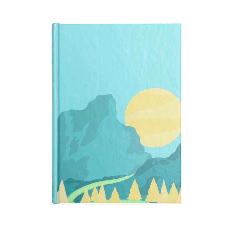 Thawing Accessories Notebook by Maple Bee Creative