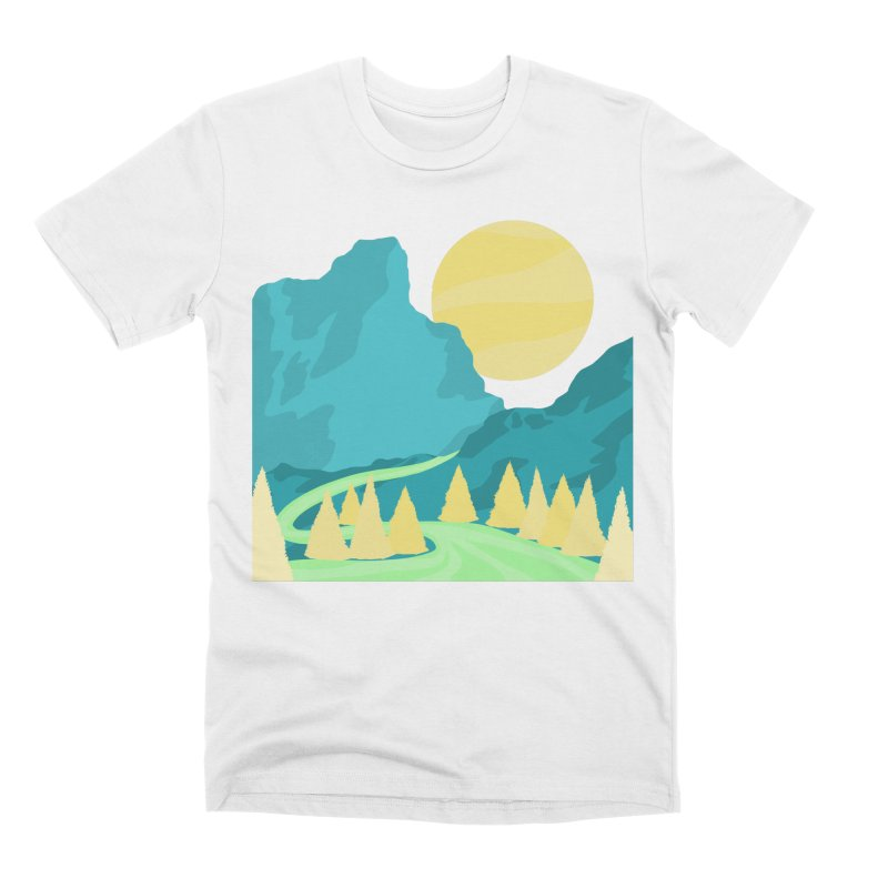 Thawing Men's T-Shirt by Maple Bee Creative