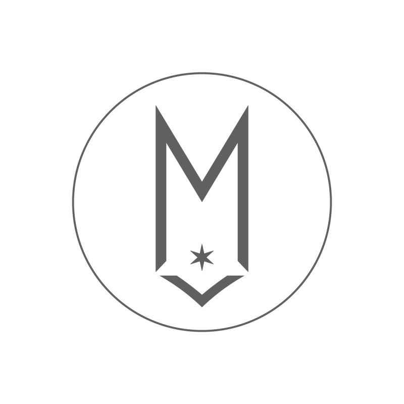 M Circle Gray Logo by Shop Maplewood Brewery & Distillery