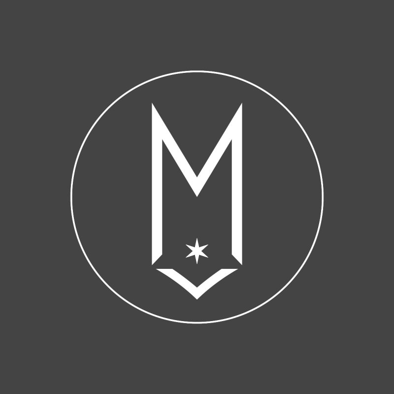 M Circle White Logo by Shop Maplewood Brewery & Distillery