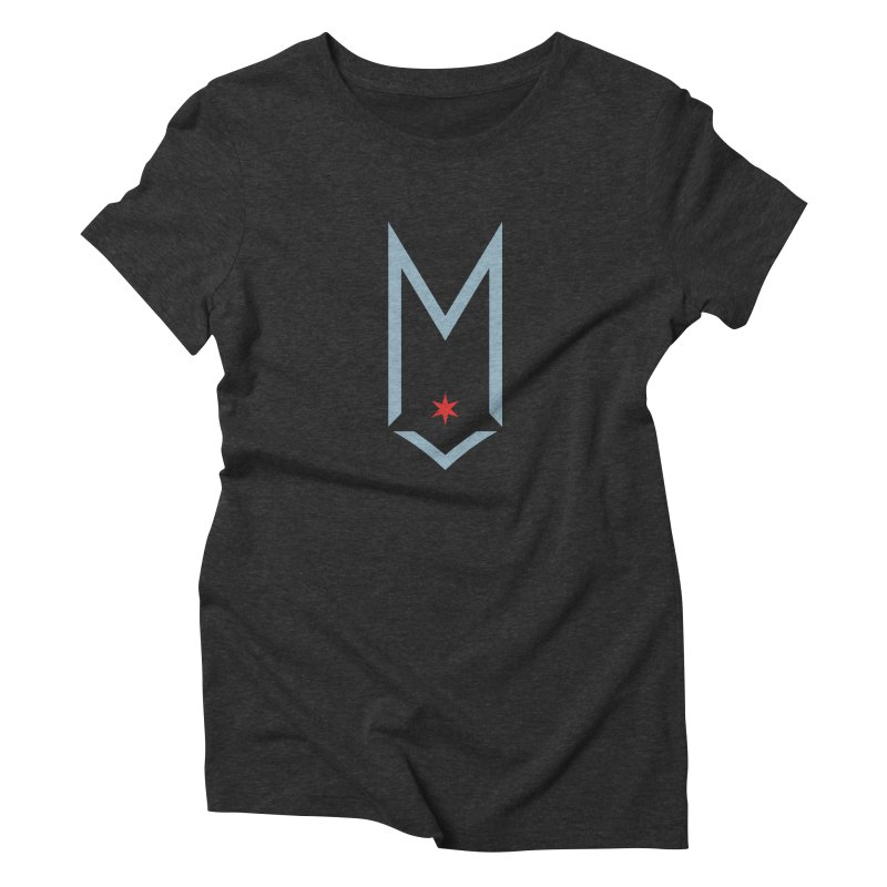Maplewood - Faded Chi Logo 88 Women's Triblend T-Shirt by Shop Maplewood Brewery & Distillery