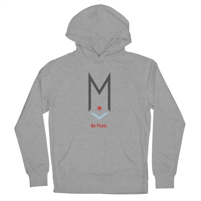 Be Fluid - Classic Logo Women's French Terry Pullover Hoody by Shop Maplewood Brewery & Distillery