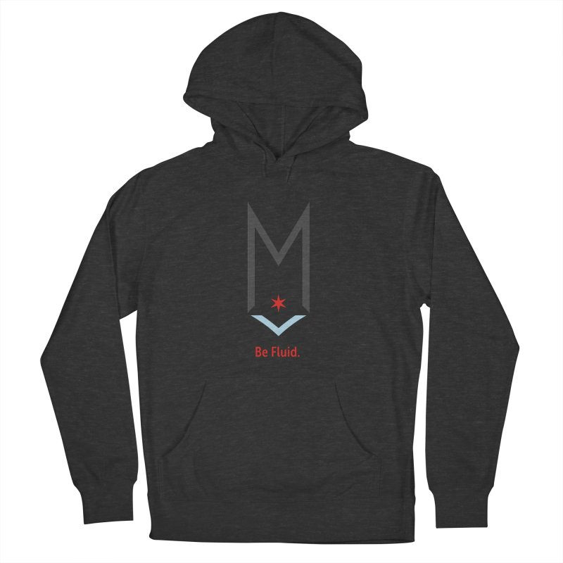 Be Fluid - Classic Logo Men's French Terry Pullover Hoody by Shop Maplewood Brewery & Distillery