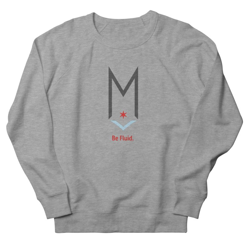 Be Fluid - Classic Logo Men's French Terry Sweatshirt by Shop Maplewood Brewery & Distillery