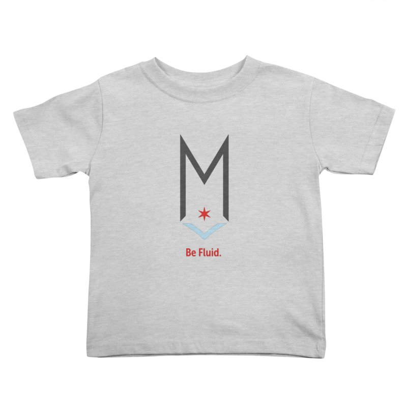 Be Fluid - Classic Logo Kids Toddler T-Shirt by Shop Maplewood Brewery & Distillery