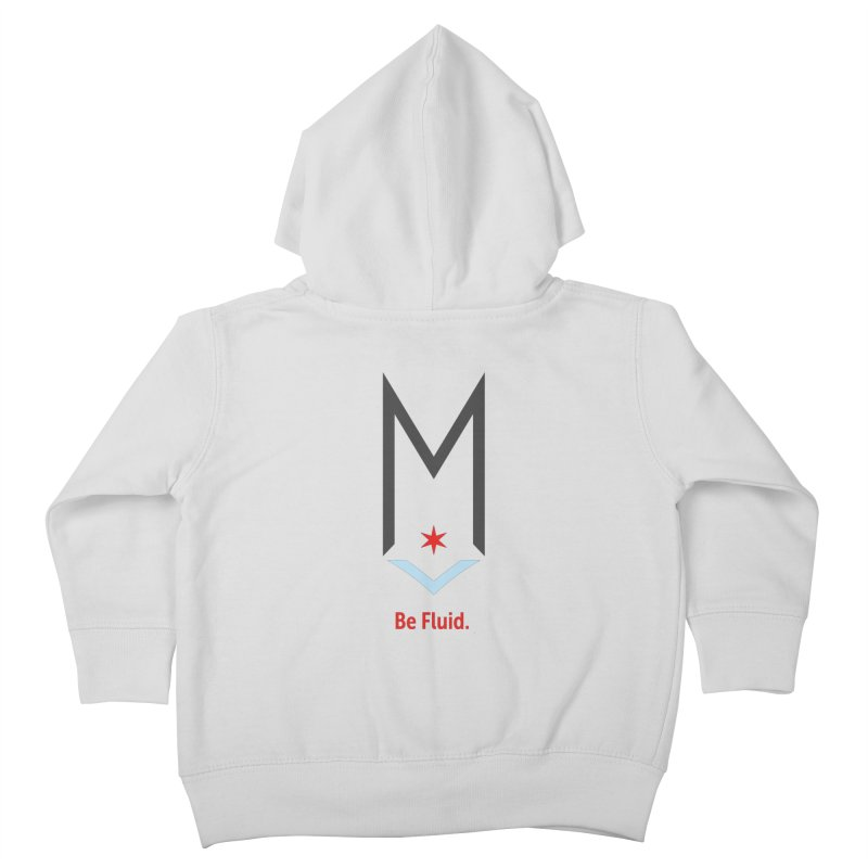 Be Fluid - Classic Logo Kids Toddler Zip-Up Hoody by Shop Maplewood Brewery & Distillery