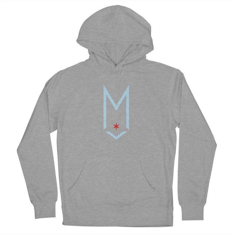 M - Chicago Logo Women's French Terry Pullover Hoody by Shop Maplewood Brewery & Distillery