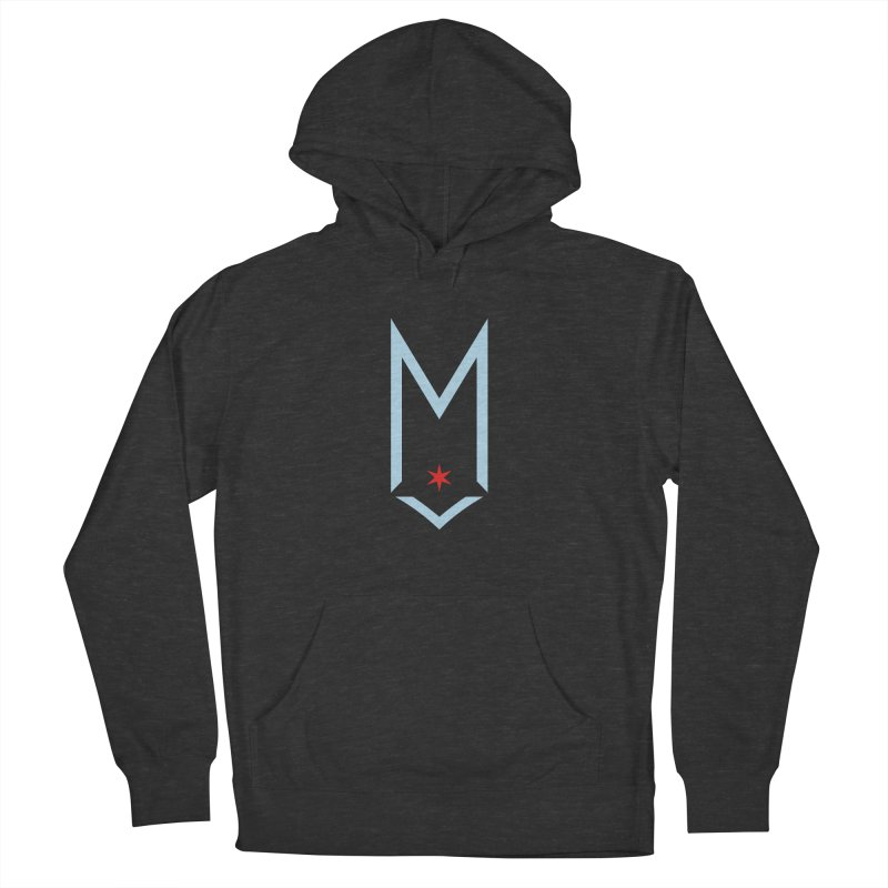M - Chicago Logo Men's French Terry Pullover Hoody by Shop Maplewood Brewery & Distillery
