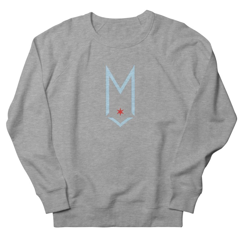 M - Chicago Logo Women's French Terry Sweatshirt by Shop Maplewood Brewery & Distillery