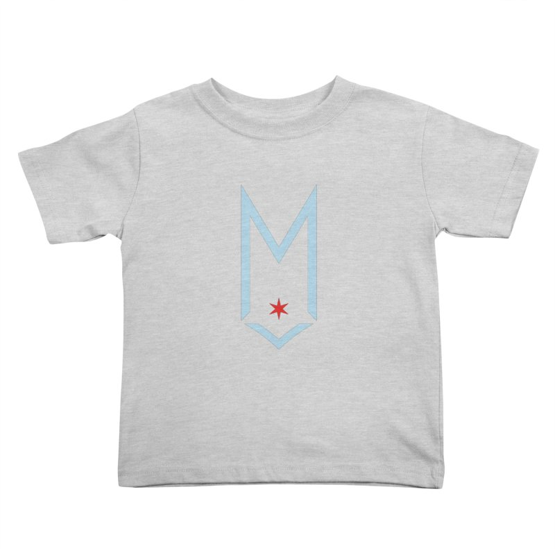 M - Chicago Logo Kids Toddler T-Shirt by Shop Maplewood Brewery & Distillery