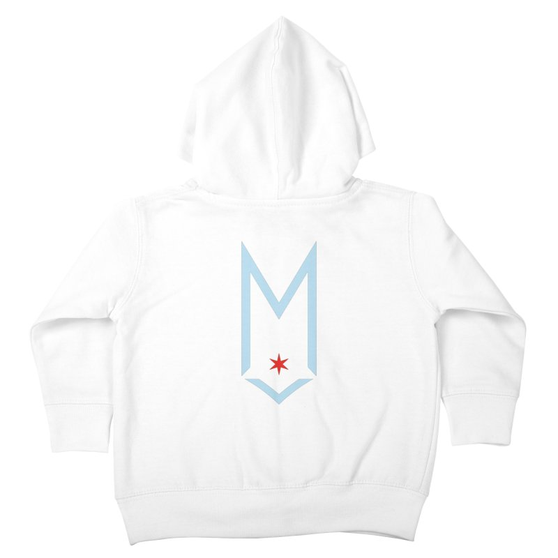 M - Chicago Logo Kids Toddler Zip-Up Hoody by Shop Maplewood Brewery & Distillery