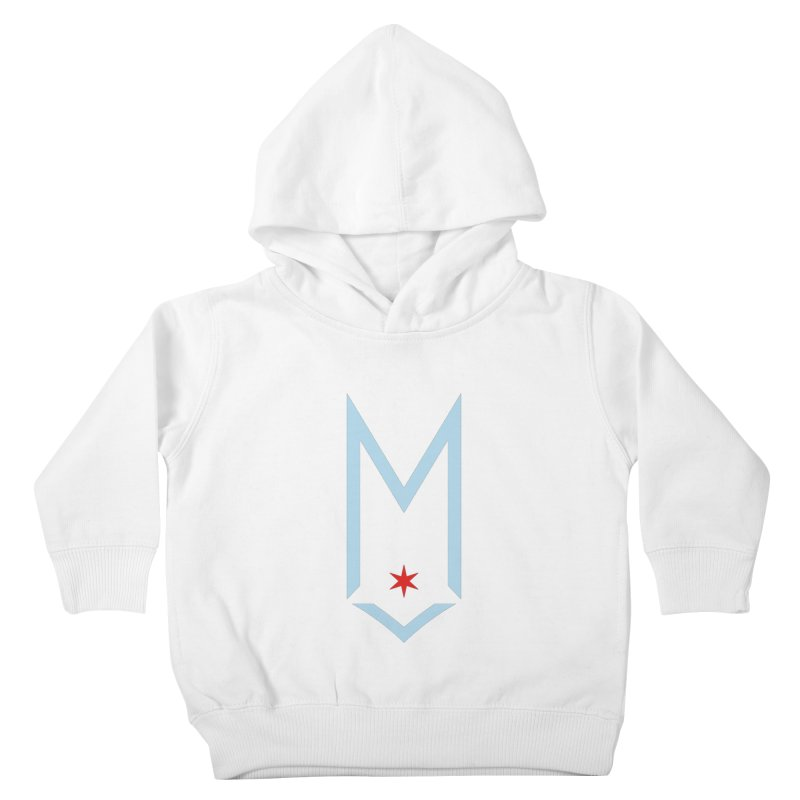 M - Chicago Logo Kids Toddler Pullover Hoody by Shop Maplewood Brewery & Distillery