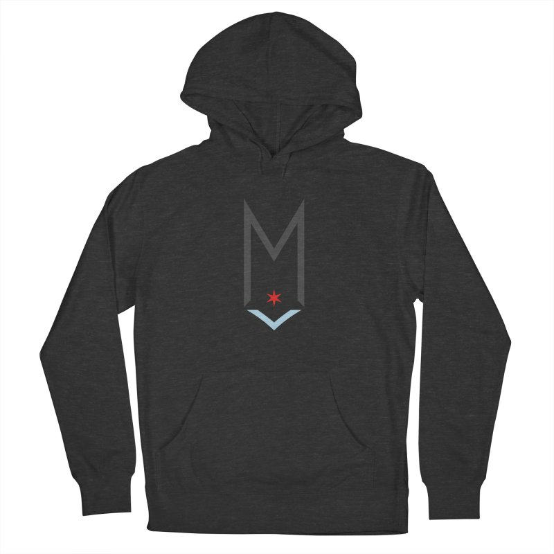 M - Classic Logo Women's French Terry Pullover Hoody by Shop Maplewood Brewery & Distillery