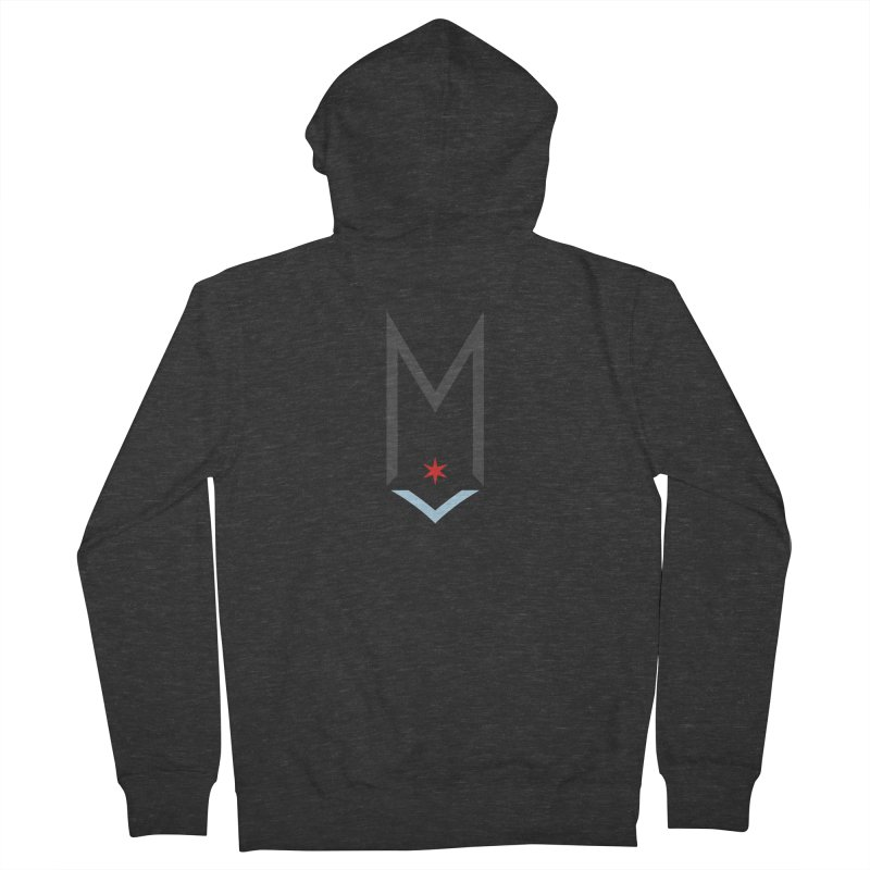 M - Classic Logo Men's French Terry Zip-Up Hoody by Shop Maplewood Brewery & Distillery