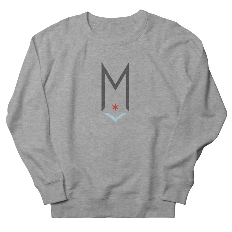 M - Classic Logo Men's French Terry Sweatshirt by Shop Maplewood Brewery & Distillery